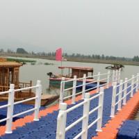 水上浮桥施工平台 黄岩美观耐用的水上塑料浮筒