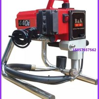 佰科440i高压无气喷涂机喷漆机油漆机钢结构喷漆机乳胶漆等