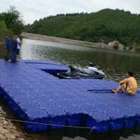 摩托艇泊位停靠塑料浮筒码头 水上塑料浮筒厂家直销