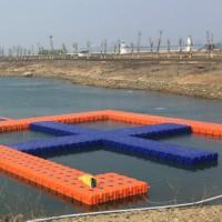 环保实用的水上钓鱼平台  水上浮筒游船码头平台