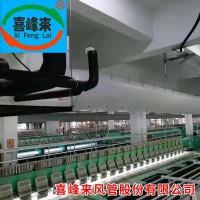 新款 布风管  布袋风管 中央空调三防布袋风管 中国喜峰来通风系统工期短重量轻