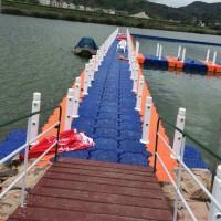 厂家直销水上塑料浮筒  抗风浪浮筒码头 浮桥