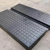 橡胶道口铺面板 橡胶平交道口板 轨道车库橡胶板 轮缘槽橡胶板
