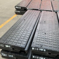 P50嵌丝橡胶道口板 新Ⅲ型橡胶道口板 铁路与公路平交道口板