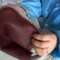 缝纫机车沙发套转弯怎么能压好明线?