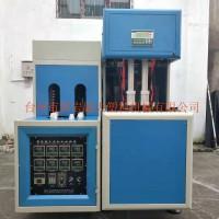厂家直销 500毫升矿泉水瓶一出二半自动吹瓶机节能小型