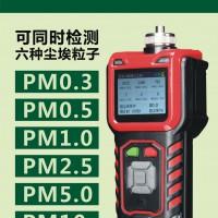 尘埃粒子计数器粉尘浓度检测仪带打印机PM0.3、PM0.5等