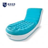 充气懒人沙发 单人午休充气沙发 便携式充气折叠床垫 充气躺椅