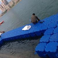 水上浮桥组合式塑料浮筒 水上游艇码头浮筒厂家