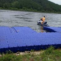 塑料观光水上游船漂浮浮筒码头  水上游乐游泳池塑料浮筒