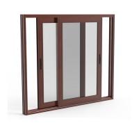 窗纱一体135加盟 一体平开窗 隔热/防腐/静音135系列封阳台卧室铝合金门窗
