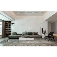 希腊白柔哑面岩板大板瓷  岩板加工订制多种白色中岛台面电视柜石材 厕所墙面地面客厅背景墙岩板