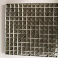 厂家供应各种网格填料  聚凝池塑料网格 洗涤塔污水塔网格板