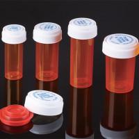儿童防误食安全药瓶可伸缩盖医药包装瓶保健胶囊通用药盒