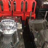 厂家定做 塑料椅子模具 一体塑料椅子 沙滩椅模具