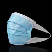 成人一次性口罩独立包装耳挂式含熔喷布三层宽耳带口罩