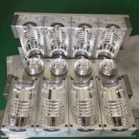 定制吹瓶模具 500毫升一出二半自动吹瓶模具 厂家直销