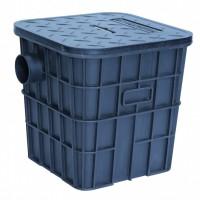 400 PE隔油池厨房毛发分离器小型家用隔油井塑料检查井污水处理隔油池