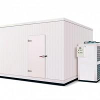 恒雪制冷 台州供应定做冷库 304双面不锈钢冷库 保温性能好 耐腐蚀 易清理