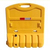 定制 全新料三孔水马塑料注水围挡1.8米滚塑防撞桶隔离墩移动护栏 围栏