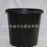 【加仑盆】批发植树大号加厚加仑盆阳台黑色硬质塑料7加仑花盆