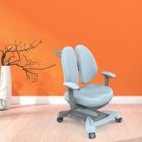 新款人体工学高度可升降可矫正坐姿可防近视防驼背儿童学习椅双背靠